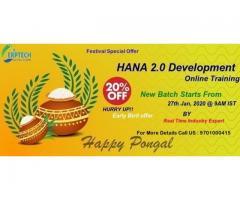 HANA 2.0 development Training institute in Hyderabad