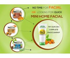 No time for facial or looking for quick mini home facial