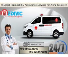 Take Hi-tech ICU Support Exigency Ambulance in Patna by Medivic