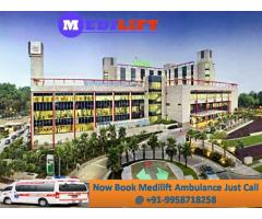 Life-Support Emergency Ambulance Service in Patna with Doctor