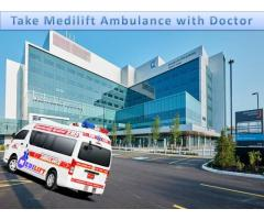 Find the Finest Ambulance in Patna with Medical Team