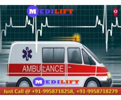 Hire Top-Class Emergency Medilift Ambulance in Bokaro