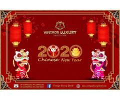 Chinese New Year Offer By Vintage Luxury Yacht Hotel