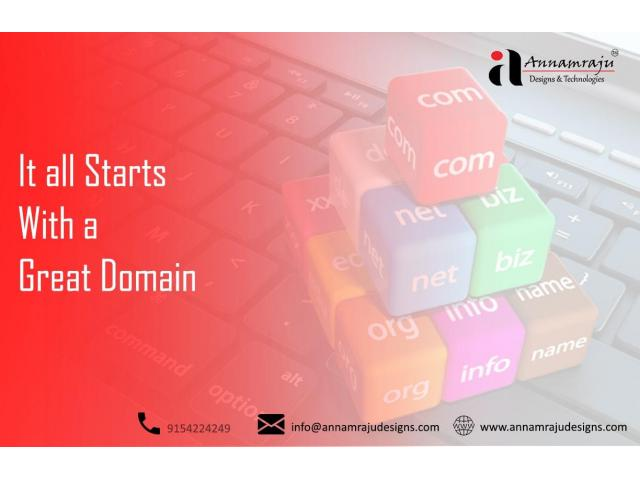 Domain Registration Services Hyderabad|Domain Name Registration Uppal |Annamraju
