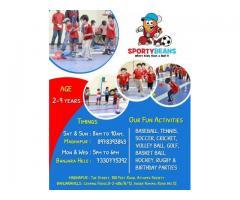 Sportybeans MultiSport Program For Children in Hyderabad