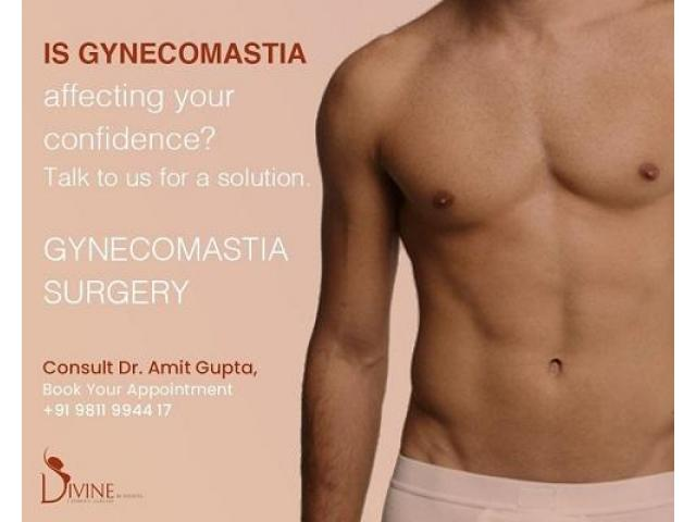Effective Gynecomastia Surgery at Divine Cosmetic Surgery