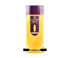 With 3x more vitamin E helping reduce hair fall - Bajaj Almond Drops Hair oil
