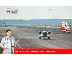 Emergency Medical Air Ambulance in Delhi | King Air Ambulance from Delhi Cost