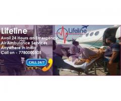 Rent Effective as well as Reliable Air Ambulance in Raipur by Lifeline