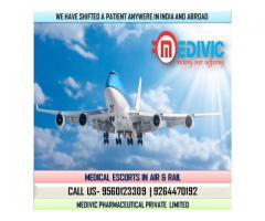Take Prestigious Life-Saver Exigency Air Ambulance in Patna by Medivic