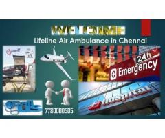 Relocate Patient by Lifeline Air Ambulance in Chennai- Totally ICU Enabled Atmosphere