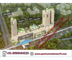 Spectrum Metro Studio Apartment Location Map, Serviced Apartments in Noida