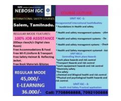 INTERNATIONAL SAFETY COURSES IN SALEM