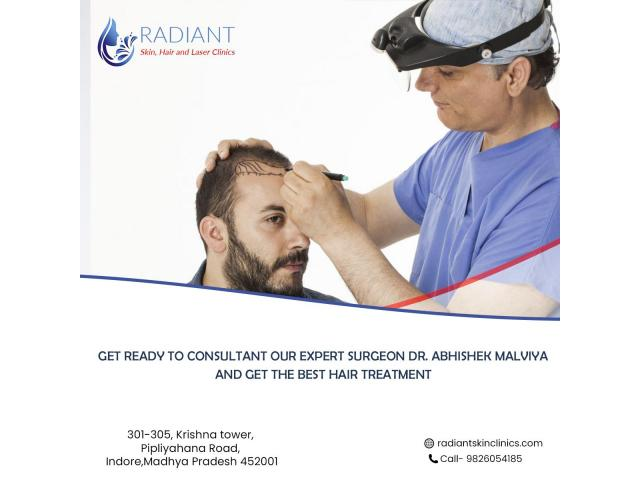 - Best hair transplant in Indore | Radiant skin hair & laser clinic