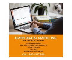 100% Job Oriented Digital Marketing Training with Internship in Hyderabad