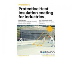 Heat Insulation Industrial Protective Coating for Equipment