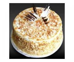Order Online Butter scotch Cake to Vizag | Send Cakes to Visakhapatnam
