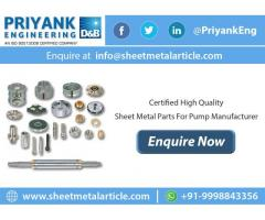 Sheet Metal Components in India
