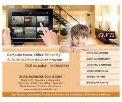 CCTV, Home Security in Calicut - Aura Business Solutions