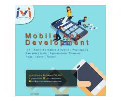 Mobile Application Development Company in India- Intellivisiontechnologies