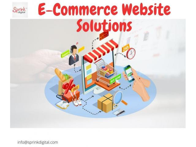 Best E-commerce Marketing Services in India - Sprink Digital