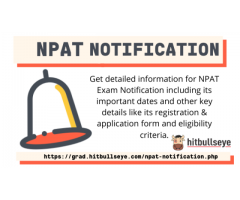 NPAT Notification