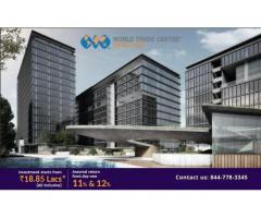 Commercial Property Available For Sale at WTC CBD Noida