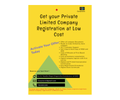 Get the best Private Limited Company Registration in Coimbatore
