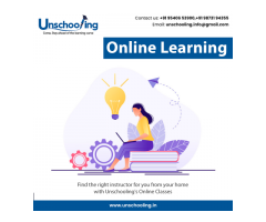 Online Learning Classes | CBSE Tuition In Gurgaon | Unschooling