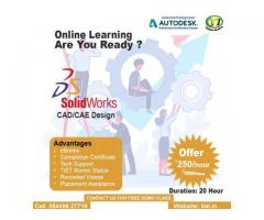 Start Learning SolidWorks (CAD/CAE Design) |Online Training