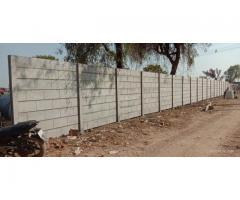 RCC Precast concrete compound wall