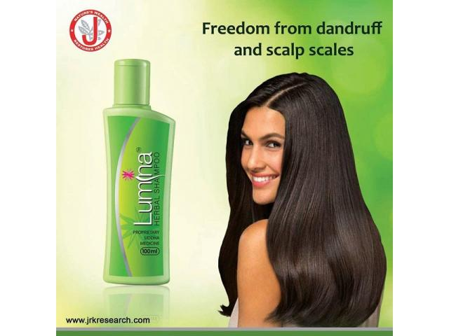 Lumina Herbal Shampoo For Dandruff and Scalp Psoriasis