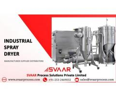 Top Services from Authorized Industrial Spray Dryer Manufacturer