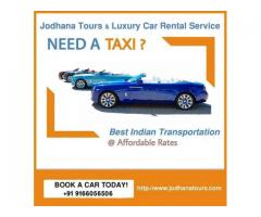 Car hire/rental services in Jodhpur