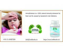 fever and flu ImmuEnhance Natural Supplements 100% natural immunity