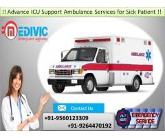 Gain Most Esteemed Road Ambulance Service in Sri Krishna Puri by Medivic