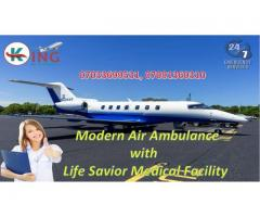 Gain Supersonic ICU Support by King Air Ambulance Service in Delhi