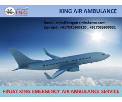 Get Super Cost-Effective Air Ambulance Service in Guwahati by King