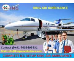 Utilize Supercilious Life-Saver Air Ambulance Service in Patna by King