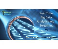 Real-Time Big Data Analytics with Streaming - Testware Informatics