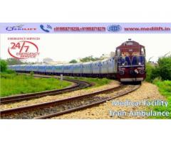 Get Medilift Train Ambulance Service in Ranchi with Complete Medical Facility