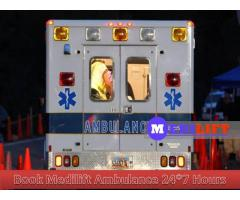 Find Very Low-Budget Ambulance Service in Samastipur by Medilift