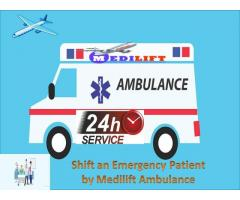 Take Advanced Medical Support Ambulance Service in Darbhanga