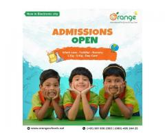International Preschool in Bangalore | Orange Schools