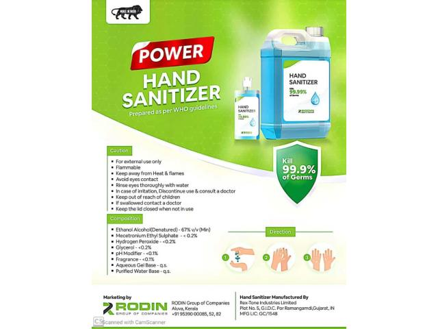 sanitizer at low cost