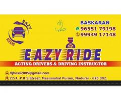 Eazy Ride Acting drivers & driving tutor services