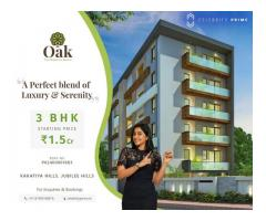 3 BHK Flats For Sale in Jubilee Hills / Madhapur