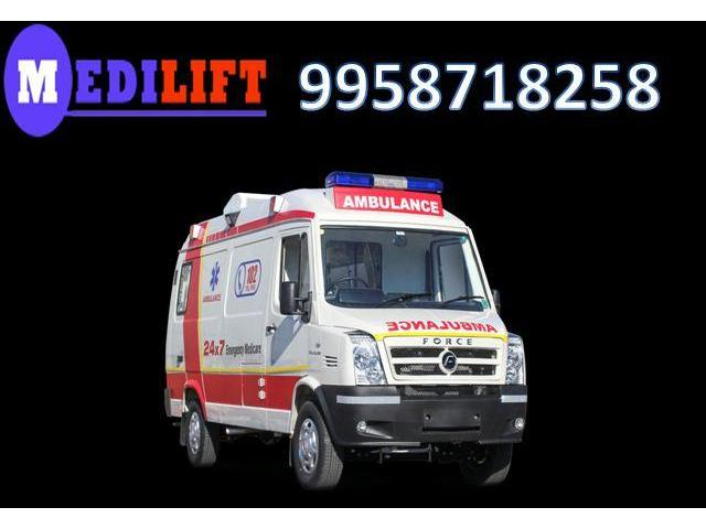 Get Medilift Ambulance from Sitamarhi to Patna with Amazing Transportation Facility
