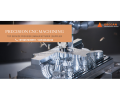 Best Precision CNC Machining Services in India
