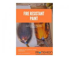 High Performance Fire Protection With Fire-Resistant Coating